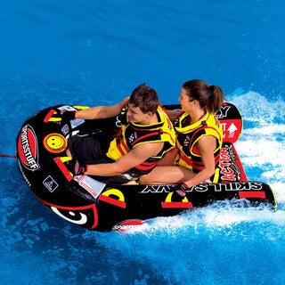 Slalom Jockey Towable Double Rider Water Tube
