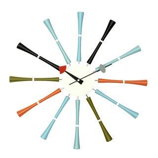 Telecrhon Multicolor Spindle Clock