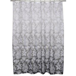 Ombre Flower Shower Curtain