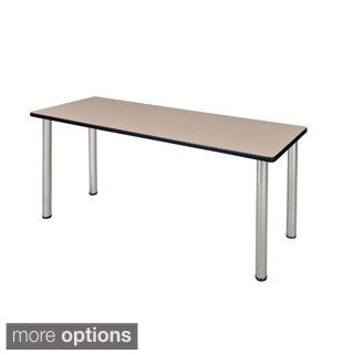 66-inch Kee Training Table - Chrome Legs