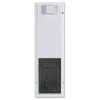 PlexiDor Electronic Pet Door Large Door Mount