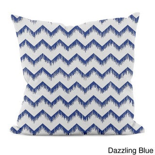 Sketched Zig-zag 16x16-inch Decorative Pillow