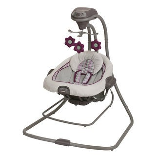 Graco DuetConnect LX Swing and Bouncer in Nyssa