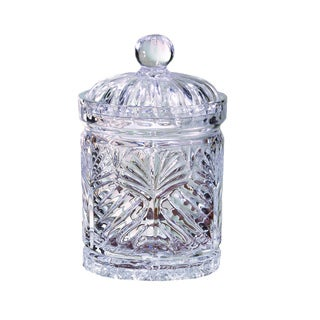 Portico 7.5-inch Glass Covered Jar