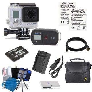 GoPro HERO3+ Black Edition Camcorder 32GB Bundle