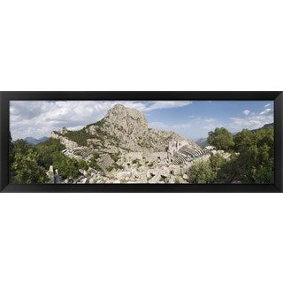 Termessos, Antalya Province, Turkey' Framed Panoramic Photo