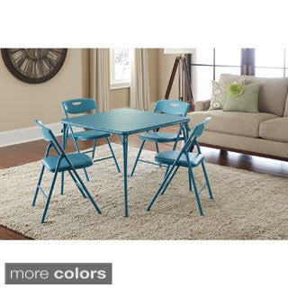 Cosco 5-piece Folding Table and Chairs Set