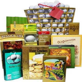 Tee Off Great Golfers Gift Bag Gourmet Snack Sampler