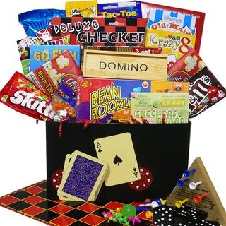 Fun and Games Snacking Gift Box Care Package