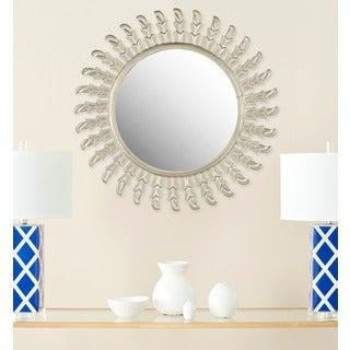 Safavieh Inca Sunburst Pewter Mirror