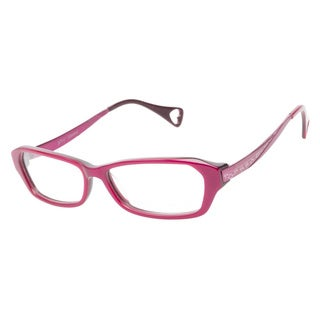 Betsey Johnson Shining Star Violet Prescription Eyeglasses