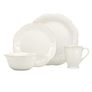 Lenox White French Perle 4-piece Place Setting