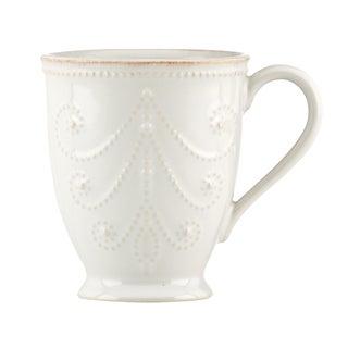 Lenox White French Perle Mug