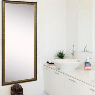 American Made Rayne Cameo Bronze 28.5 x 63.5 Tall Mirror