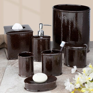 Crackle Bath Accessory Collection