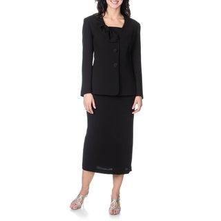 Giovanna Signature Women's Mock 3-piece Skirt Set