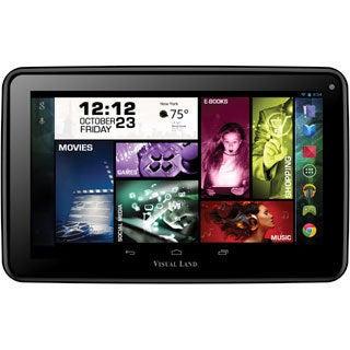 "Visual Land Prestige Elite 7Q 8GB Tablet - 7"" - Quad-Core - Black"