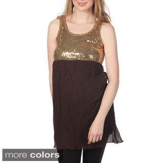 Cotton Express Sleeveless Baby Doll Dress