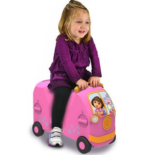 VRUM Dora the Explorer Carry-on Ride Along Kid's Suitcase