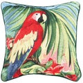 Macaw 17-inch Tapestry Pillow