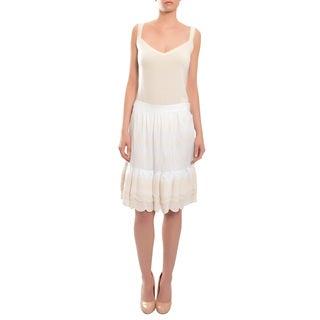 Tory Burch Women's 'Jasey' Crisp Ruffle Tiered Cotton Skirt