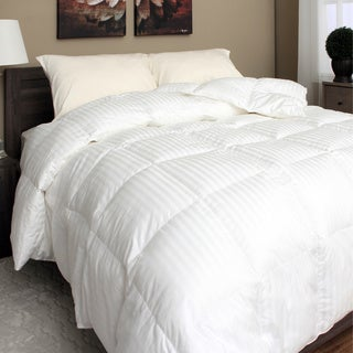 Spring Air 400 Thread Count Eurobox Micromax Down Alternative Comforter