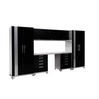 NewAge Products Performance Plus 8-piece Metal Cabinet Set
