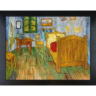 Vincent Van Gogh 'Vincent's Bedroom at Arles ' Hand Painted Framed Canvas Art