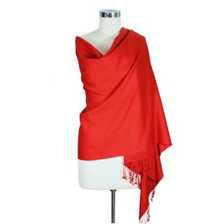 Wool and Silk 'Attraction' Shawl (India)
