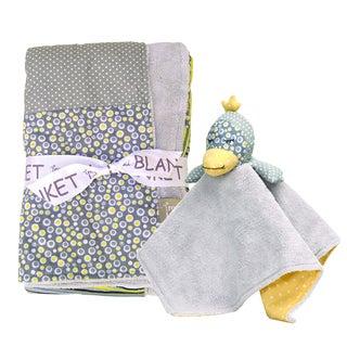 Trend Lab 2-piece Hello Sunshine Blanket Set