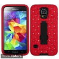 INSTEN Symbiosis with Stand Diamond Cover Phone Case Cover for Samsung Galaxy S5/ SV