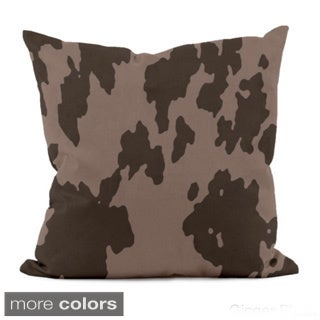 20 x 20-inch Abstract Animal-print Decorative Throw Pillow
