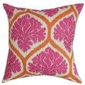 Priya Floral Down Fill Throw Pillow Pink