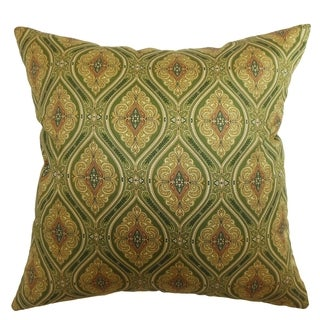 Heihe Buddha Paisley Down Filled Throw Pillow