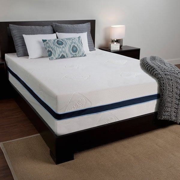 Sealy 14 Inch Queen Size Memory Foam Mattress Overstock Shopping Great Deals On Sealy Mattresses