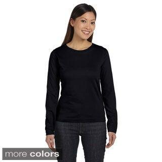 Women's Combed Ringspun Jersey Long Sleeve T-shirt