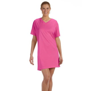 Women's Combed Ringspun Jersey V-neck Coverup
