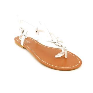 Lauren Ralph Lauren Women's 'Aurelia' Patent Leather Sandals - Wide (Size 10 )