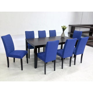 Warehouse of Tiffany 9-piece Blue Juno Table Dining Set