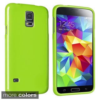 INSTEN Colorful TPU Rubber Gel Skin Cover Phone Case Cover for Samsung Galaxy S5 SV
