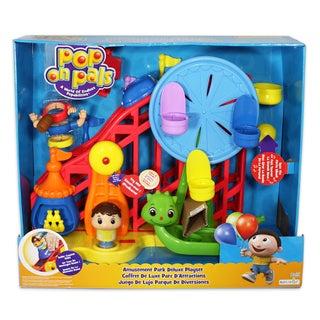 Pop On Pals Boy's Amusement Park Playset