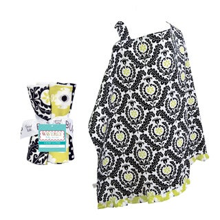 Trend Lab Waverly 5-piece Nursing Cover and Burp Cloth Set