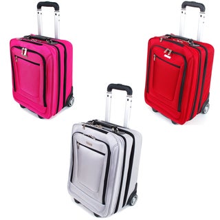 Checkpoint Friendly Executive Office Rolling 19-inch Carry-on Laptop Case