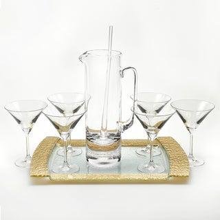 Manhattan Martini 9-piece Set with Tray