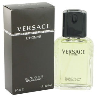 Versace L'Homme Men's 1.7-ounce Eau de Toilette Spray