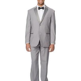 Caravelli Men's Slim Fit Light Grey Tuxedo