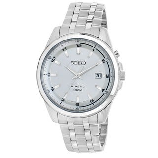 Seiko Men's SKA629 'Core' Stainless Steel Power Reserve Watch