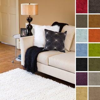 "Hand Woven Kendra New Zealand Felted Wool Shag Area Rug (3'6"" x 5'6"")"
