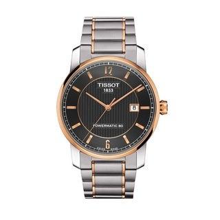 Tissot Men's T0874075506700 Titanium Automatic Swiss Watch
