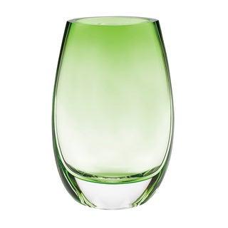 Crescendo Spring Green 8-inch Vase